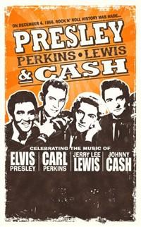 Presley Perkins Lewis & Cash
